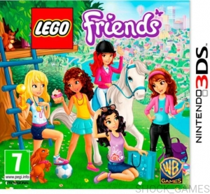 GRA NINTENDO 3DS LEGO FRIENDS FRIEND