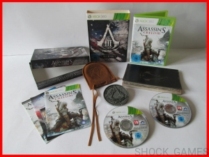 ASSASSIN'S CREED III JOIN OR DIE EDITION XBOX 360 ASSASSINS