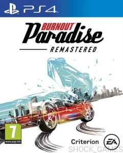 BURNOUT PARADISE REMASERED PL PS4
