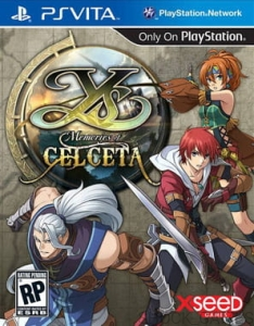 GRA PSVITA YS MEMORIES OF CELCETA FOLIAGE OCEAN PS VITA