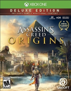 ASSASSIN'S CREED ORIGINS PL XBOX ONE ASSASSINS DELUXE EDITION