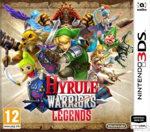 GRA NINTENDO 3DS HYRULE WARRIORS LEGENDS + KOD