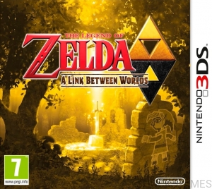 GRA NINTENDO 3DS THE LEGEND OF ZELDA A LINK BETWEEN WORLDS