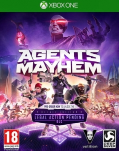 AGENTS OF MAYHEM PL XBOX ONE