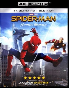 SPIDER-MAN HOMECOMING PL 4K ULTRA HD UHD HDR SPIDERMAN SPIDER MAN