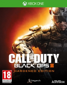 CALL OF DUTY BLACK OPS III 3 HARDENED EDITION XBOX ONE COD