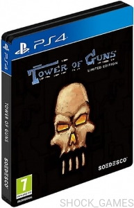 TOWER OF GUNS LIMITED EDITION PS4 STEELBOOK GUN