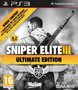 GRA PS3 SNIPER ELITE 3 III V3 AFRIKA ULTIMATE EDITION PL