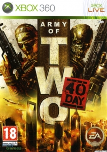 GRA XBOX 360 ARMY OF TWO 40TH DAY