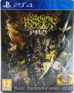 DRAGON'S CROWN PRO BATTLE - HARDENED EDITION PS4 STEEL BOOK DRAGONS